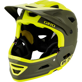 Giro Switchblade MIPS Casque, matte citron/olive